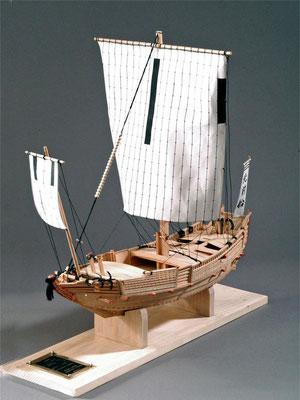 31-14 北前船 Kitamaebune  1804年  日本  1/30   ウッディージョー社 奥村義也  Yoshiya Okumura