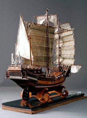 31-24 御朱印船(末次船) Suetsugu-Bune  1634年 日本  1/100  スクラッチビルト 野上吉彦 Yoshihiko Nogami