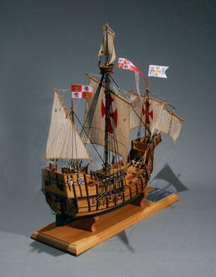 32-45  サンタ・マリア SANTA MARIA  年代:    1492年  製作者:  松原 満  製作期間:5ヶ月