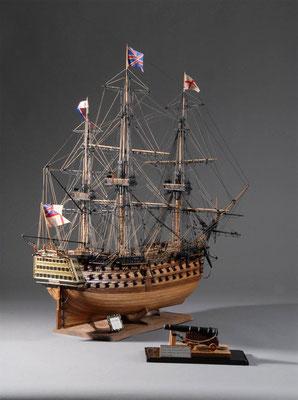 36-34  ビクトリー H.M.S. VICTORY  1805年  イギリス  1/98   吉橋直之 Naoyuki Yoshihashi(一般)