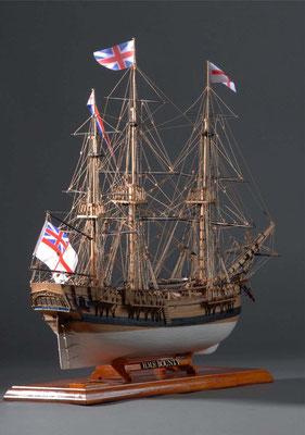 36-31 バウンティー H.M.S. BOUNTY 1784 イギリス 1/64 福本英三 Eizo Fukumoto