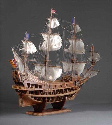 36-6 サン・ファン・バウティスタ  SAN JUAN BAUTISTA  1585年 スペイン  キット ディアゴスティーニ  屋鋪一樹 Kazuki Yashiki