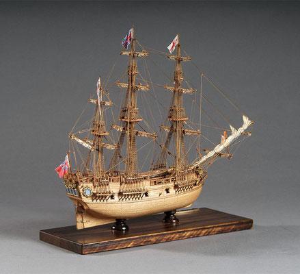 30-55 エンデバー ENDEAVOUR  1768 イギリス 1/100 マモリ社  松下 利夫 Toshio Matsushita