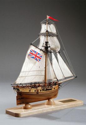 30-21 ハンター HUNTER  1797 イギリス 1/72 マモリ社  三上 裕久 Yuji Mikami