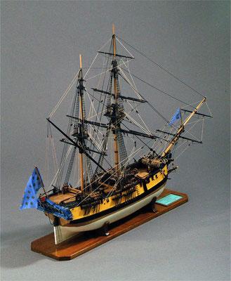 31-06 ボンバルダ BOMBARDA  1680年 フランス  1/80   アマティ社 川島壮介 Sosuke Kawashima