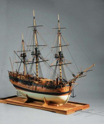 11 エンデバー ENDEAVOUR  年代:     1768年  製作者:   谷亀隆興  製作期間:1年2ヶ月