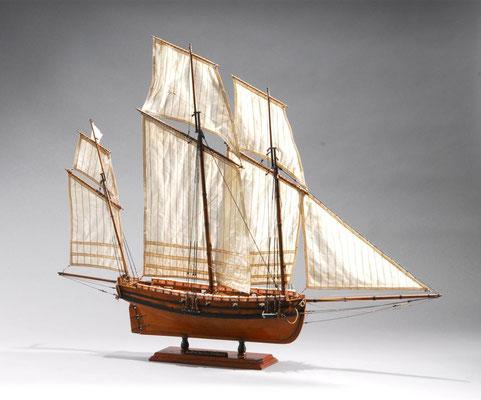 32-14 ル・クーリュール LE COUREUR  年代:     1776年  製作者:   小林正博  製作期間: 9ヶ月