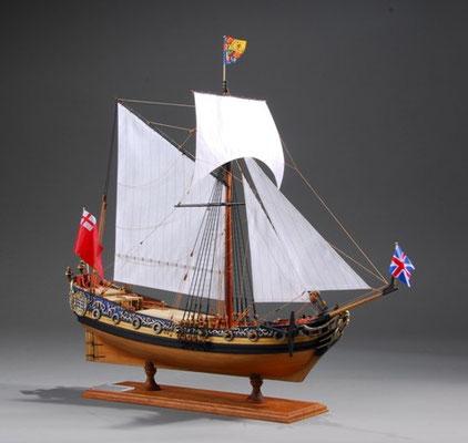 34-15 チャールズ・ロイヤル・ヨット Charles Royal Yacht  国 籍   nationality     イギリス 建造年  age   1674 縮 尺   scale  1/64  製作方法 kit 製 作:石渡 明敏  Akitoshi Ishiwata