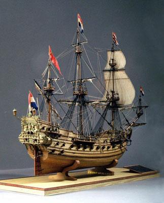 31-05 プリンス・ウイレム PRINCE WILLEM  1650年 オランダ 1/100  コーレル社 田中武敏 Taketoshi Tanaka