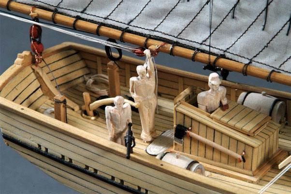 30-15 シェナンドー SHENANDOAH  1864 アメリカ 1/50 スクラッチビルト  奥村 義也 Yoshiya Okumura