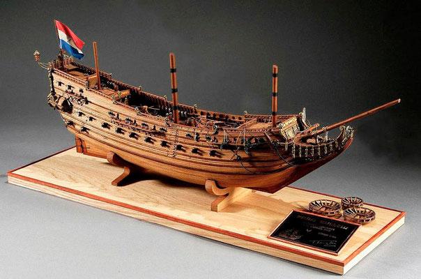 30-33 プリンス・ウイレム PRINS WILLEM  1650 オランダ  1/100 コーレル社  田中 武敏 Taketoshi Tanaka