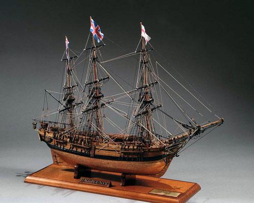 30-26 バウンティー H.M.S.BOUNTY  1787 イギリス 1/60 マモリ社  阿座上 太