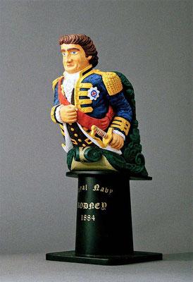 31-45 ロドニーの船首像 RODNEY  1884年 イギリス  スクラッチビルト 宮島俊夫 Toshio Miyajima