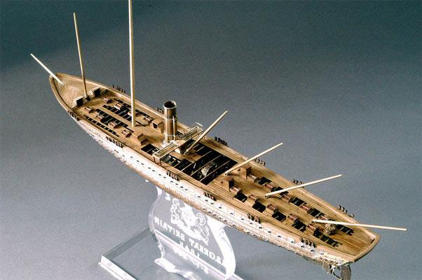 31-34 グレート・ブリテン GREAT BRITAIN  1843年 イギリス  1/200  スクラッチビルト 宮島俊夫 Toshio Miyajima
