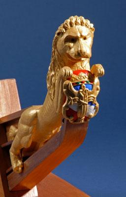 9 バーサの船首像 WASA  年代:    1628年  船籍:    スエーデン  製作者:  上野宣孝  製作期間: 1年  スクラッチビルト