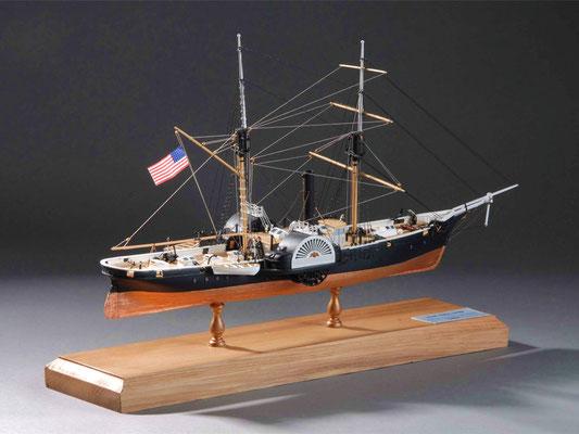 36-41 ハリエット・レーン HARRIET LANE  1857年 アメリカ  1/144 キット モデルシップウェー  染谷文男 Fumio Someya