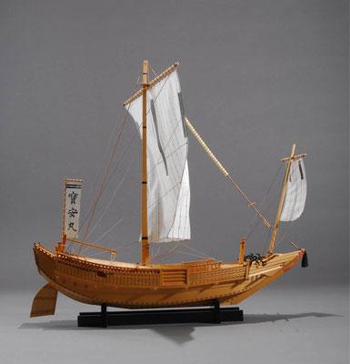 32-22 寳安丸 HOUAN MARU  年代:    1843年  製作者:  壽司範二  製作期間:   3年