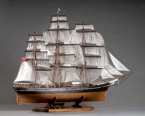 30-57 カティサーク CUTTY SARK  1869 イギリス 1/75 ビリングボート社  高成田 潔 Kiyoshi Takanarita