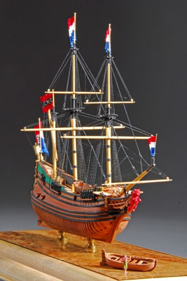 34-62 Dutch Fluit  国 籍   nationality     オランダ 建造年  age     1639 縮 尺   scale   1/192 製作方法 kit or scratchbuilt     自作  製 作:ガス・アガスチン Gus Agustin
