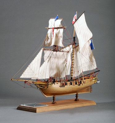 30-59 ラ・トルネーズ LA TOULONNAISE  1823 フランス  1/75 コーレル社  松原 満 Mitsuru Matsubara
