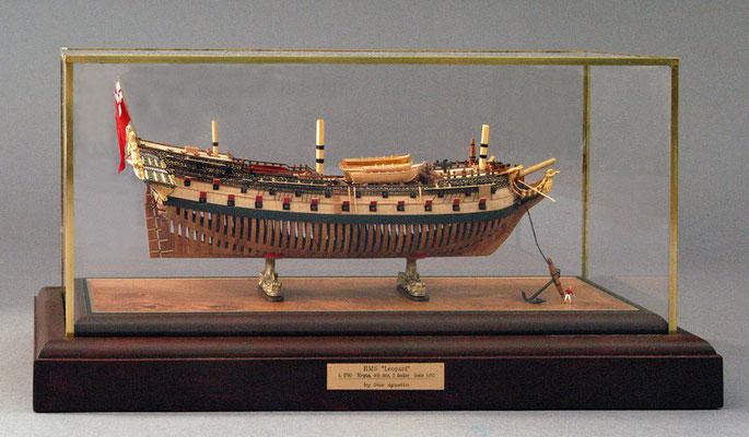31-50 レパード H.M.S.LEOPARD  1790 イギリス  1/192 スクラツチビルト Gus Agustin
