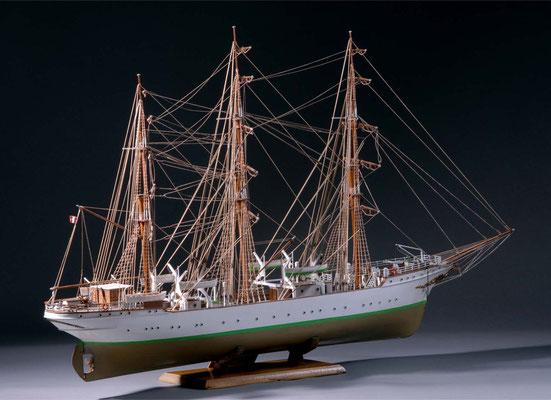 36-49 ダンマルク DANMARK  1922年 デンマーク   1/75 キット ビリングボート(Billing Boats) 新田 英行 Hideyuki Nitta