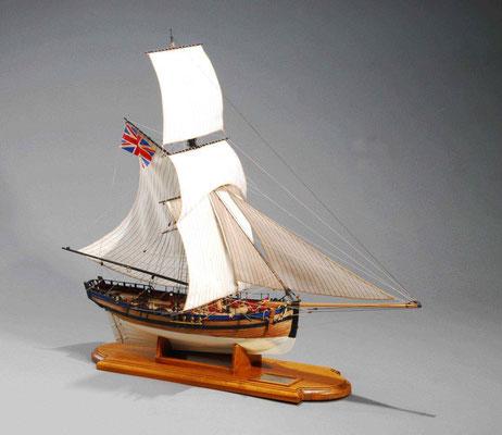 32-15 アラート H.M.Cutter ALERT  年代:     1777年  製作者:   川島壯介  製作期間:1年
