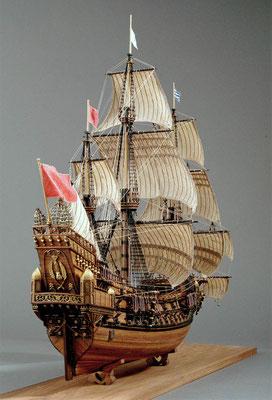 31-52  ラ・クローン LA COURONNE  1636年 フランス  1/98  マンチュア社 岩田正久 Masahisa Iwata