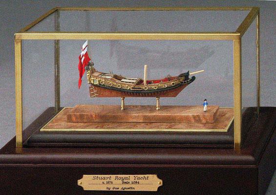 31-51  スチュアート・ロイヤル・ヨット Stuart Royal Yacht  1690 イギリス  1/384 スクラツチビルト  Gus Agustin