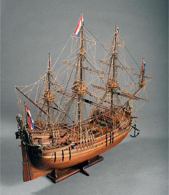 30-56 オランダの捕鯨船  Baleniera Orandese  17世紀 オランダ 1/60 マンチュアセルガル社  斎藤 秀雄 Hideo Saito