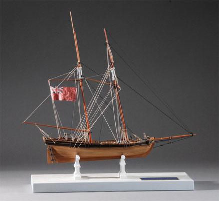 36-36 アキレス ACHILLES  1815年  アメリカ  1/43 キット セルガル(Seregal)  岩倉義昌 Yoshimasa Iwakura
