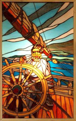 36 N.Cワイエスの作品  年代:   20世紀中期    船籍:アメリカ  スクラッチビルト   製作者: 宮島俊夫  製作期間: 6ヶ月