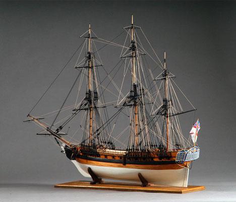 30-63 ユニコーン H.M.S.UNICORN  1768 イギリス 1/75 コーレル社  泉 邦幸 Kuniyuki Izumi