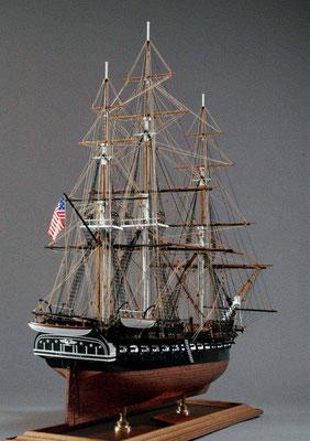 31-13 コンスティチューション U.S.S.CONSTITUTION  1797年  アメリカ  1/93   マモリ社 栗田善一郎 Zenichiro Kurita