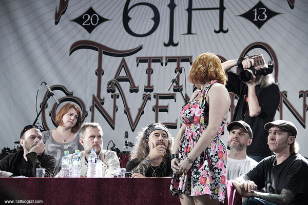 Tattoo convention in Moskau 2013. 6-я интернациональная Московская тату конвенция 2013.