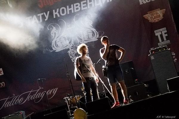 Tattooconvention in Moskau 2012