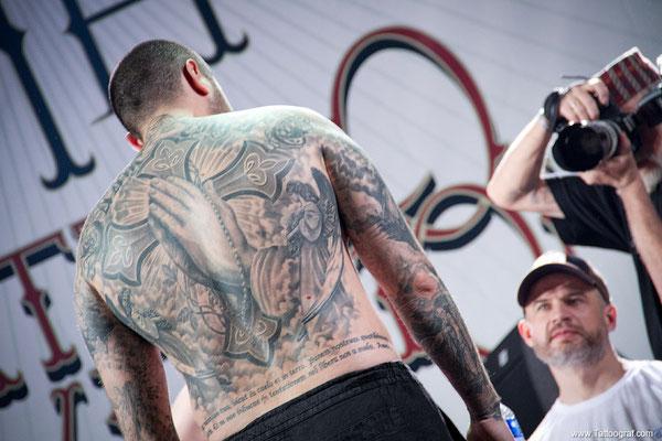 Tattoo convention in Moskau 2013. 6-я интернациональная Московская тату конвенция 2013.