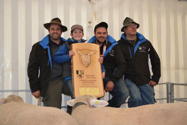 Züchter der Siegergruppe Rheintal