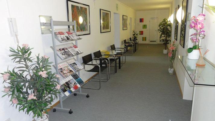 Mandantenwartebereich der Kanzlei