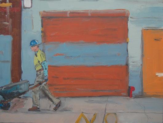 Chelsea (Suite Lane), 2011, Öl auf Holz, 30cm X 40cm, Privatbesitz