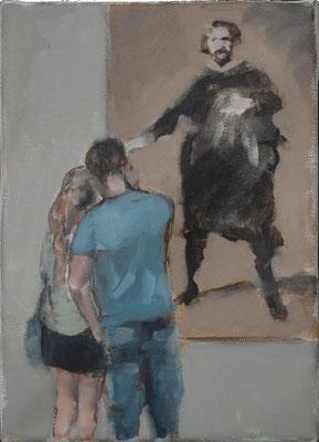 Diego, 2015, Öl auf Leinwand, 25cm X 20cm, Privatbesitz