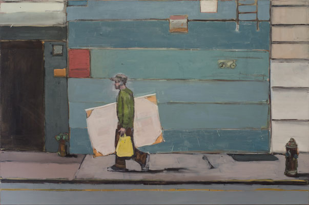 Painter, 2010-2014, Öl auf Leinwand, 120cm X 180cm