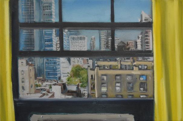 Window I, 2019, Öl auf Leinwand, 45cm X 60cm