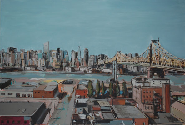QueensManhattan, 2016, 120cm X 180cm, Privatbesitz