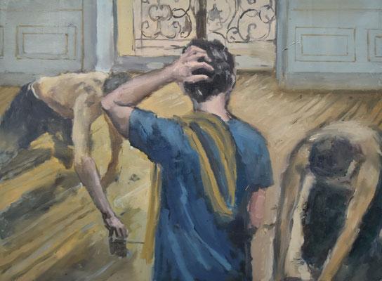 Window, 2020, Öl auf Leinwand, 60x80cm