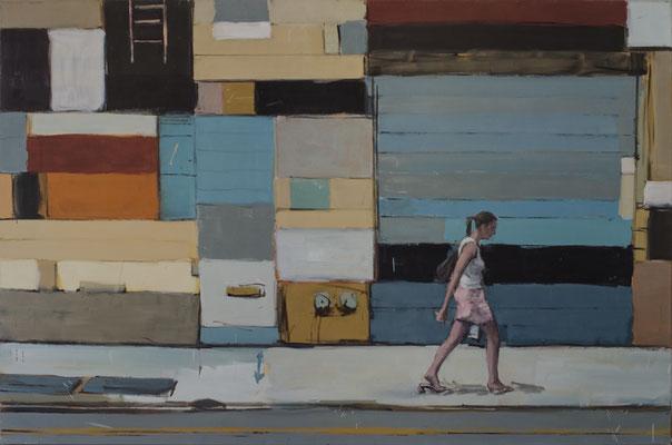 Chelsea-Girls, 2012, Öl auf Leinwand, 120cm X 180cm