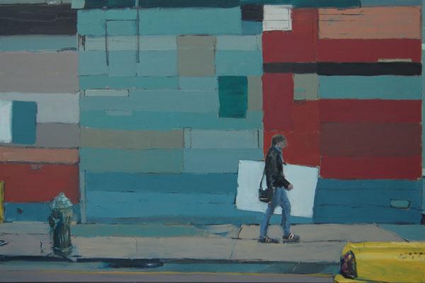 Painter, 2012, Öl auf Leinwand, 120cm X 180cm