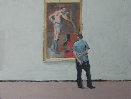 Picasso(Met), 2012, Öl auf Holz, 30cm X 40cm, Privatbesitz