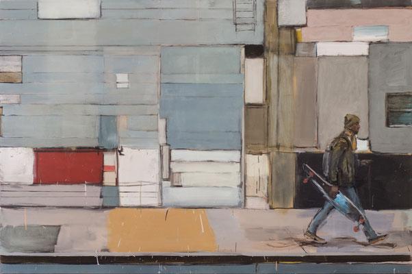 Soho, 2015, Öl auf Leinwand, 120cm X 180cm, Privatbesitz
