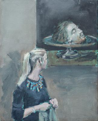 Head, 2015, Öl auf Leinwand, 50cm X 40cm